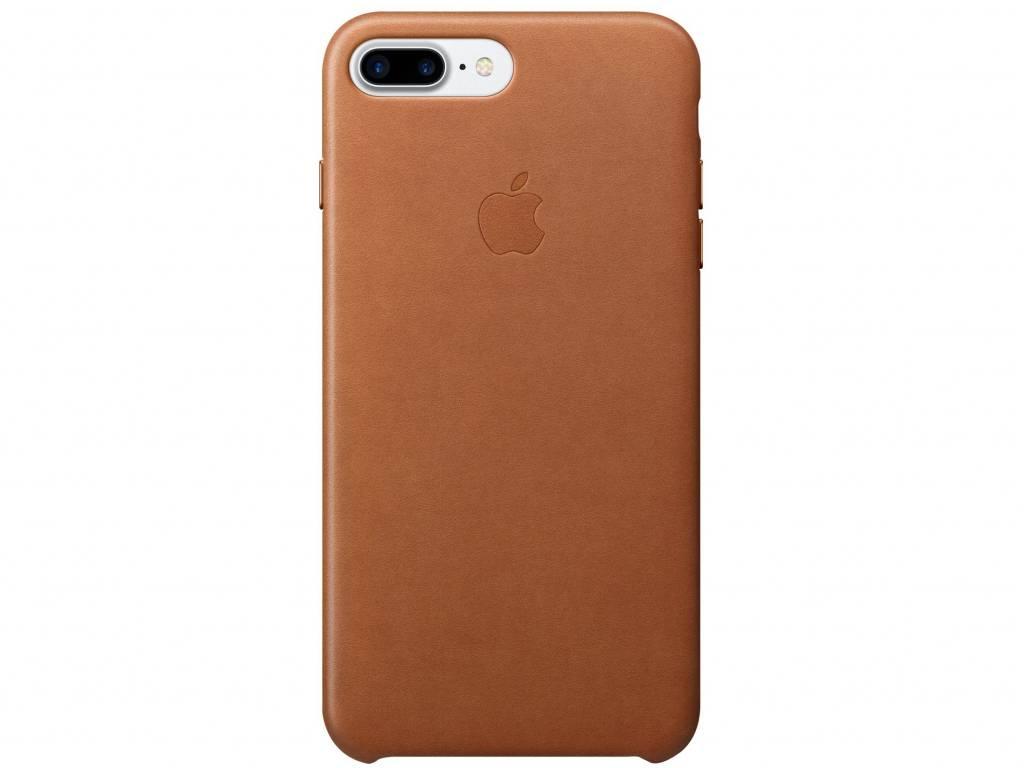 Apple Bruine Leather Case voor de iPhone 8 Plus / 7 Plus