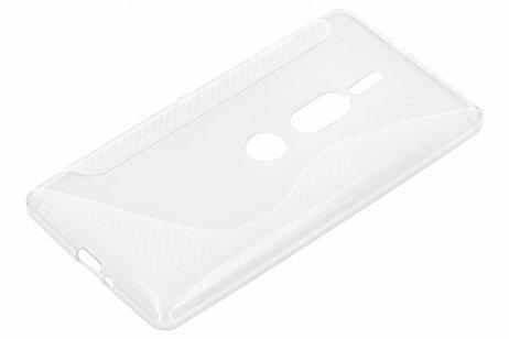 Sony Xperia XZ2 Premium hoesje - S-line Backcover voor Sony