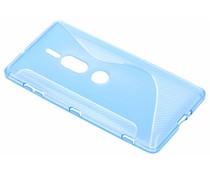 Blauw S-line TPU hoesje Sony Xperia XZ2 Premium