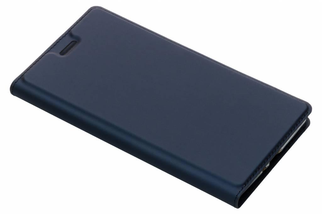 Dux Ducis Slim Softcase Booktype voor Sony Xperia XZ2 Premium - Donkerblauw