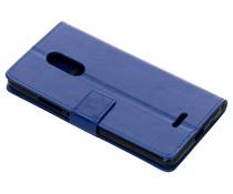 Blauw TPU Bookcase Alcatel 3C