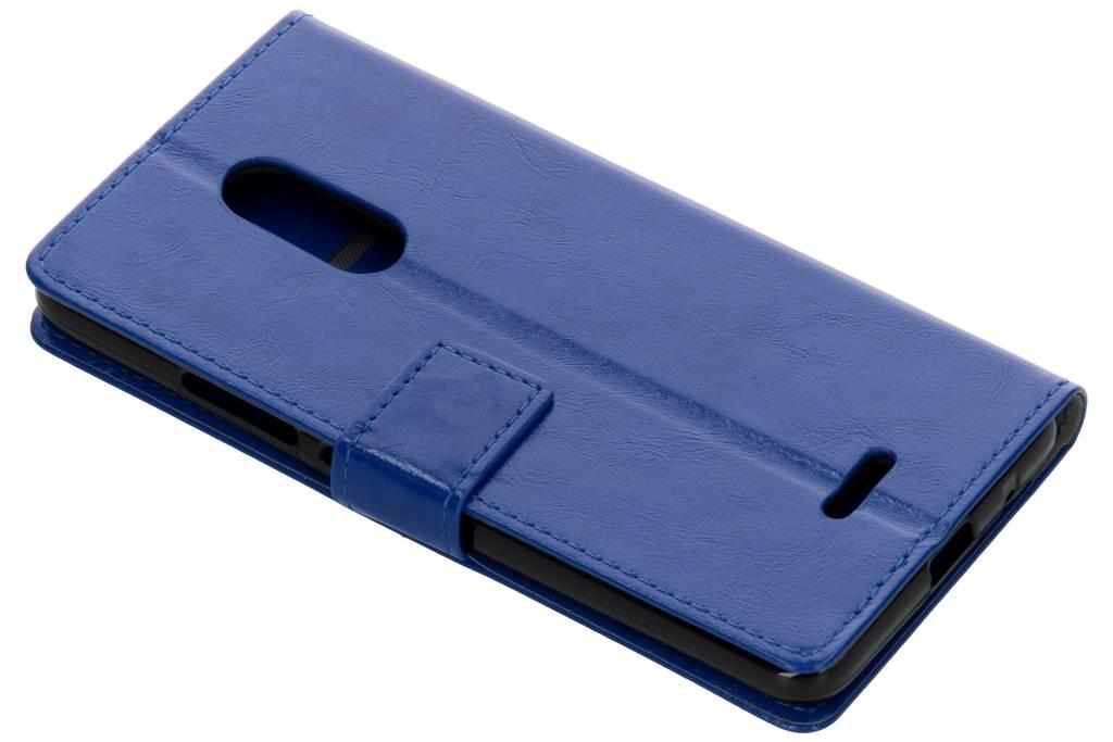 Blauwe TPU Bookcase voor de Alcatel 3C