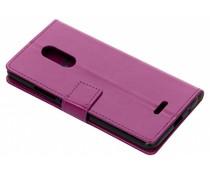 Paars TPU Bookcase Alcatel 3C