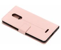Roze TPU Bookcase Alcatel 3C