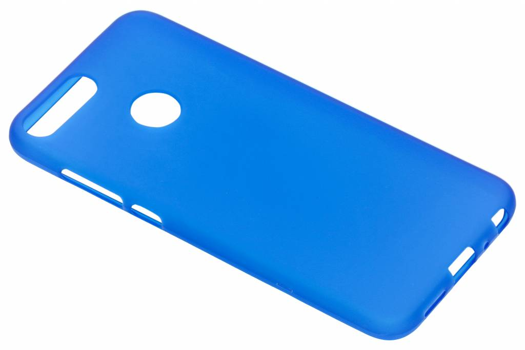 Color Backcover voor Honor 9 Lite - Blauw