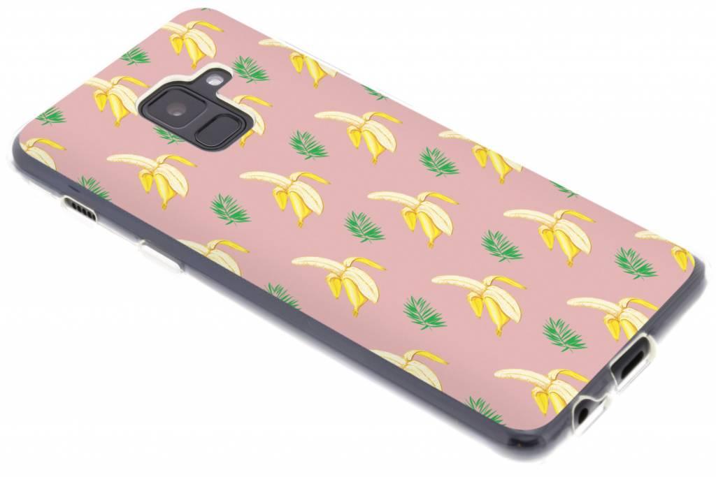Bananas design siliconen hoesje voor de Samsung Galaxy A8 (2018)