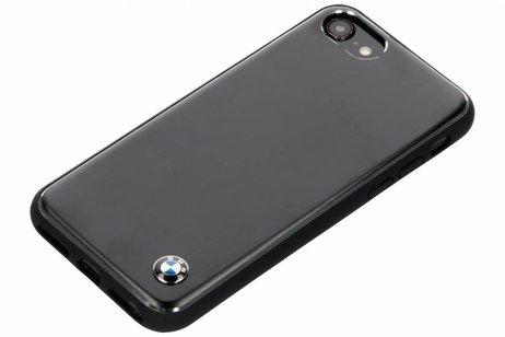 BMW Zwarte Brushed Aluminium Hard Case voor de iPhone 8 / 7 / 6s / 6