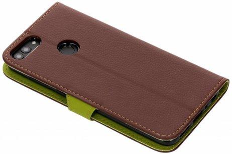 Huawei P Smart hoesje - Blad Design Booktype voor