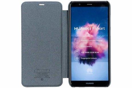tui En Cuir Série Éclat Gris Pour P Intelligent Huawei DIOT9yrVAV