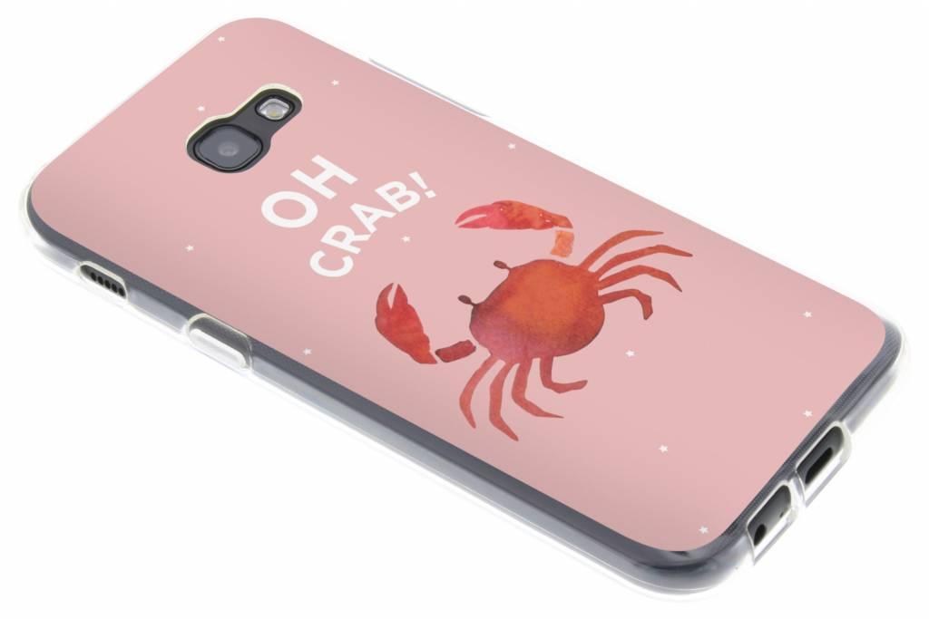 Oh Crab design siliconen hoesje voor de Samsung Galaxy A5 (2017)