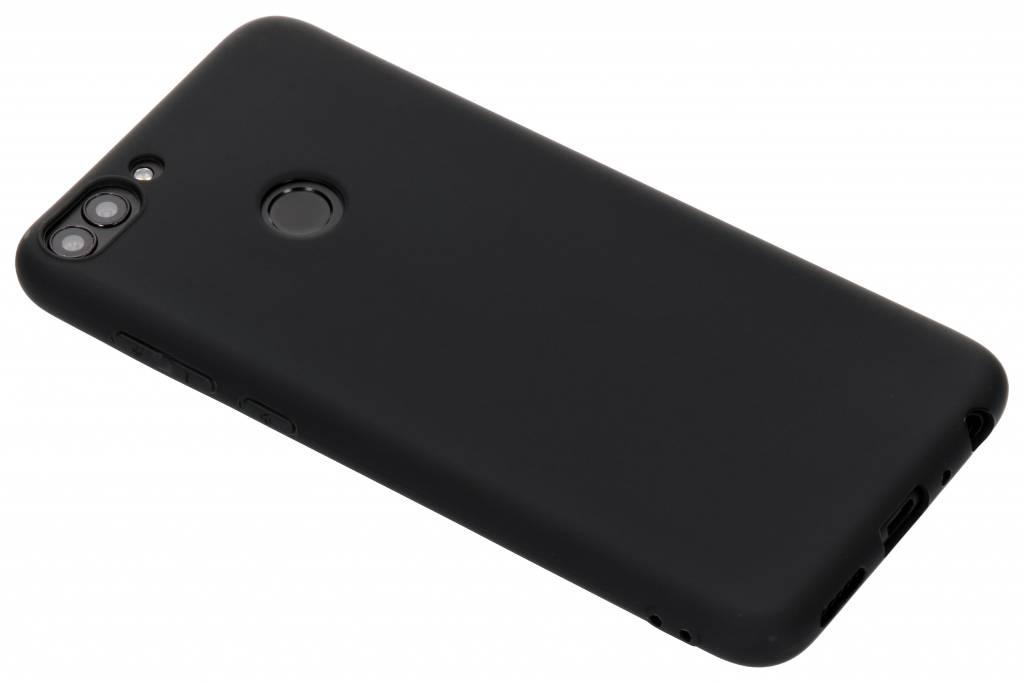 Zwart Color TPU hoesje voor de Huawei P Smart