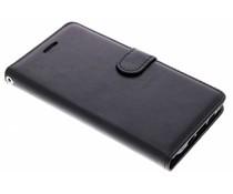 Zwart Litchi Booktype Hoes Xiaomi Mi 6