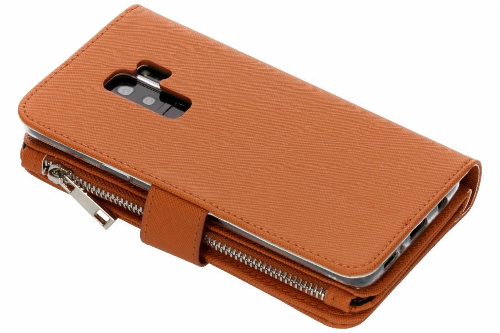 Cas Bleu Clair Saffiano Portefeuille Neuf Emplacements Pour Samsung Galaxy S, Plus S9