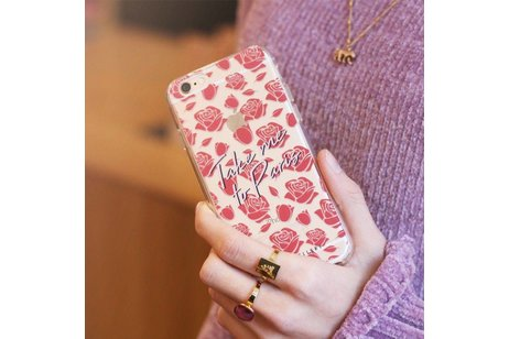 My Jewellery Design Backcover voor iPhone SE / 5 / 5s - Take me to Paris