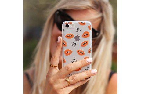 My Jewellery Design Backcover voor iPhone 8 Plus / 7 Plus - Kisses