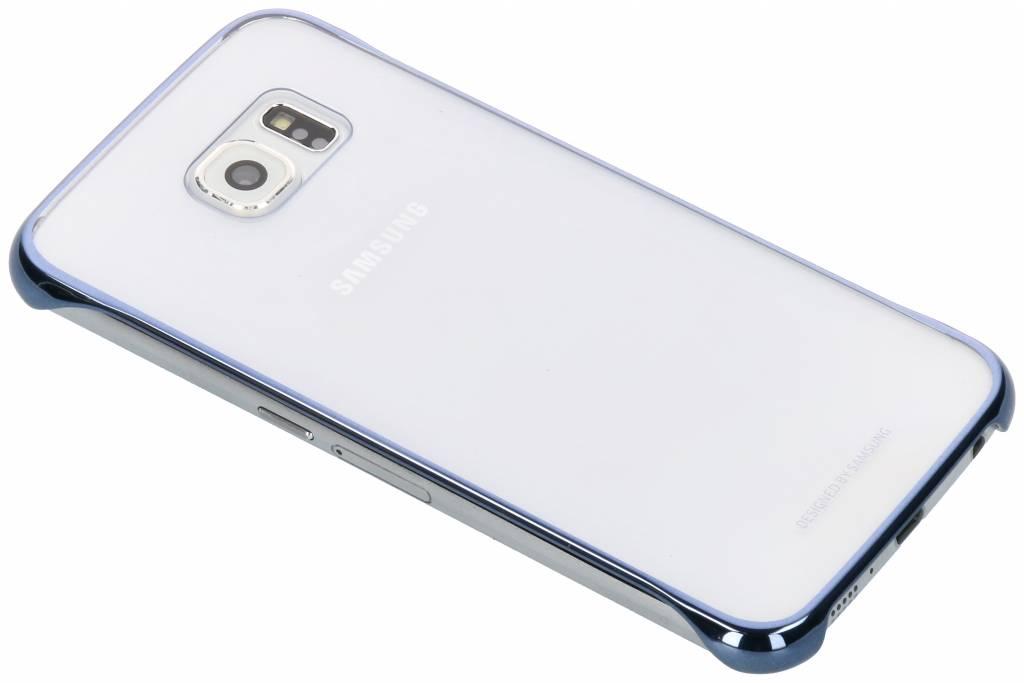 Blauwe originele Clear Cover voor de Galaxy S6