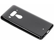 Zwart gel case HTC U12 Plus