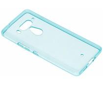 Turquoise gel case HTC U12 Plus