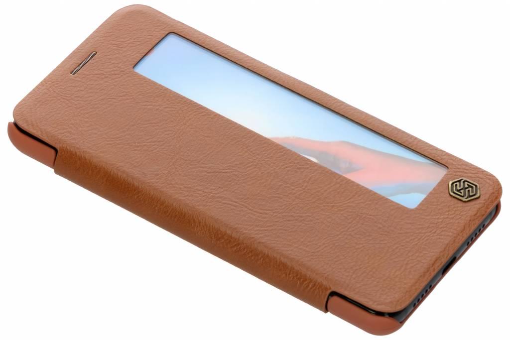Nillkin Bruine Qin Leather Case voor de Huawei P20