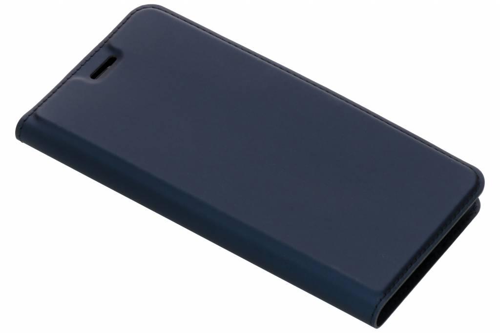 Dux Ducis Blauwe Slim TPU Booklet voor de Huawei Y6 (2018)