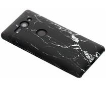 Zwart Marmer look hardcase hoesje Sony Xperia XZ2 Compact