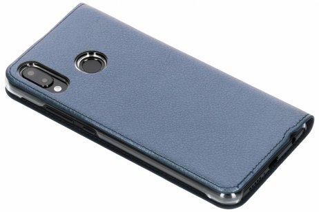 Huawei P20 Lite hoesje - Lederen Booktype met venster