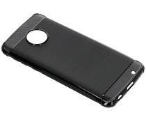 Zwart Xtreme siliconen hoesje Motorola Moto G6 Plus