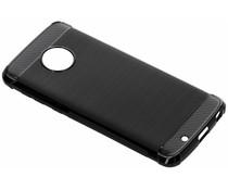 Zwart Xtreme siliconen hoesje Motorola Moto G6