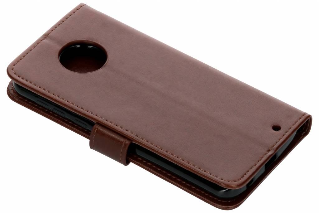 Fleurs De Trèfle Noir Case Booktype Pour Motorola Moto G6 MR7SOjUqb