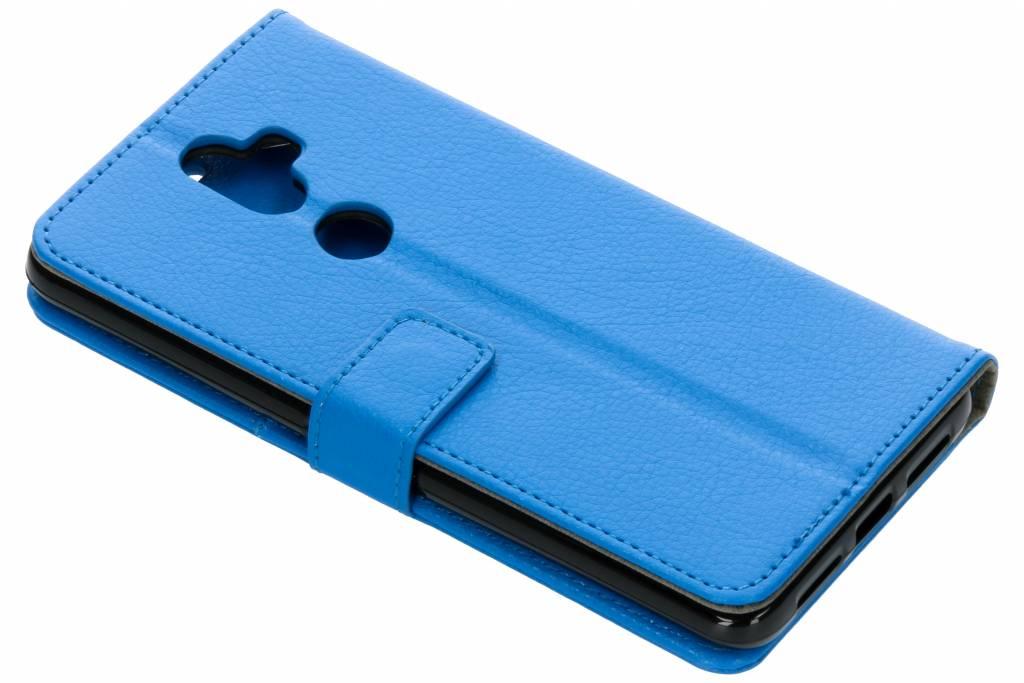 Blauwe TPU Bookcase voor de Alcatel 3V