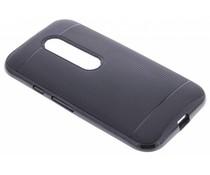 Zwart TPU Protect case Motorola Moto G 3rd Gen 2015