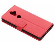 Rood TPU Bookcase Alcatel 3V