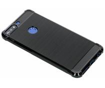 Zwart Xtreme siliconen hoesje Huawei Y7 (2018)