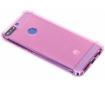 Roze Xtreme siliconen hoesje Huawei Y7 (2018)