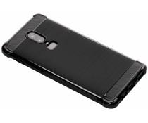Zwart Xtreme siliconen hoesje OnePlus 6