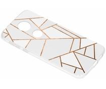 Design TPU hoesje Motorola Moto E5 Plus