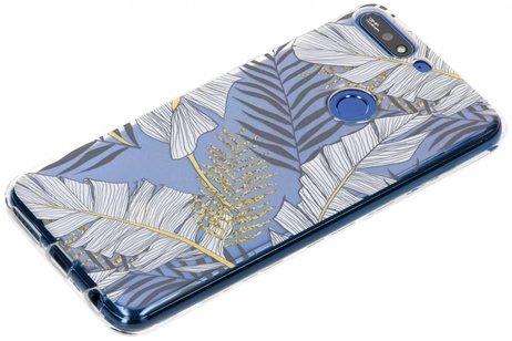Huawei Y7 (2018) hoesje - Design Backcover voor Huawei