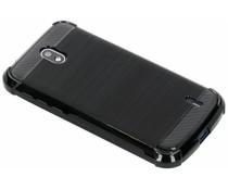 Zwart Xtreme siliconen hoesje Nokia 1