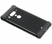 Zwart Xtreme siliconen hoesje HTC U12 Plus