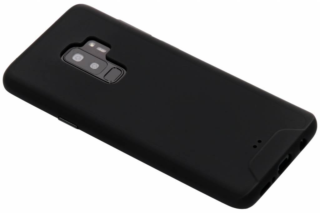 Zwarte slim extra protect case voor de Samsung Galaxy S9 Plus