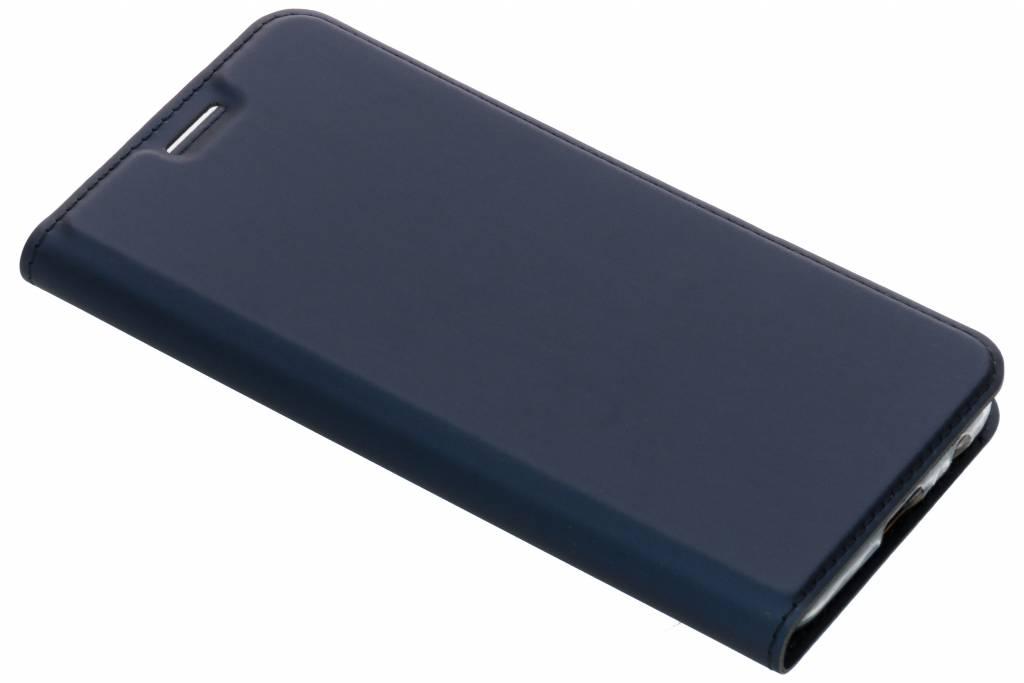 Dux Ducis Blauwe Slim TPU Booklet voor de Samsung Galaxy J6