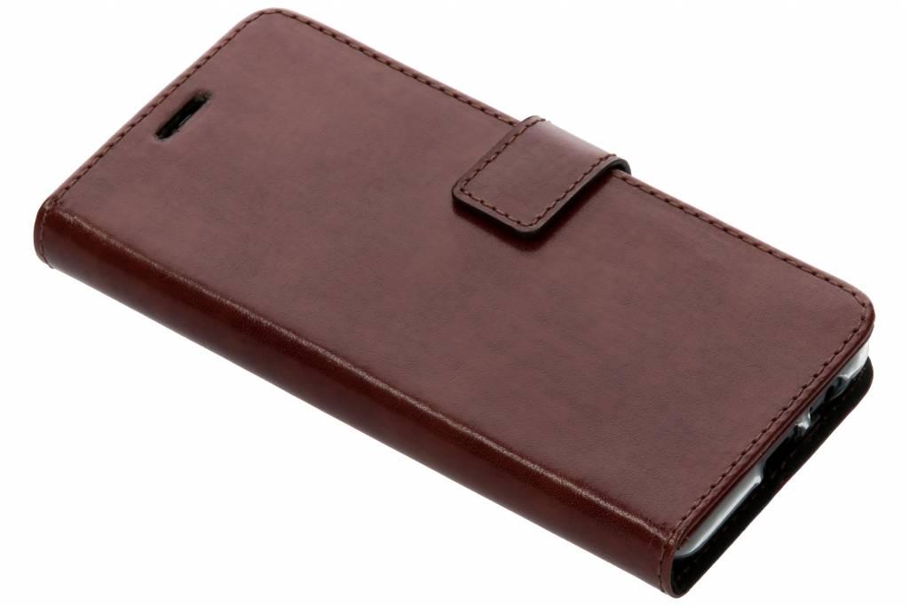 Bruine Booklet Leather voor de Samsung Galaxy A8 (2018)