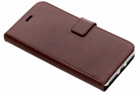 Valenta Leather Booktype voor iPhone 8 Plus / 7 Plus / 6(s) Plus - Bruin