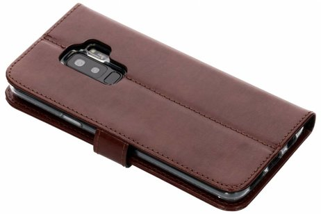 Samsung Galaxy S9 Plus hoesje - Valenta Leather Booktype voor