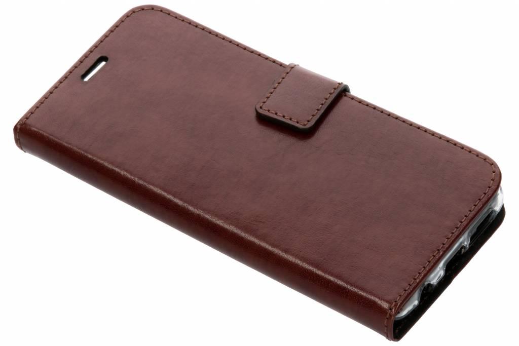 Valenta Bruine Booklet Leather voor de Samsung Galaxy S9