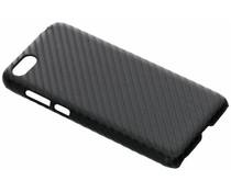 Zwart Carbon look hardcase hoesje Huawei Y5 (2018)