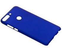Blauw Effen hardcase hoesje HTC Desire 12 Plus