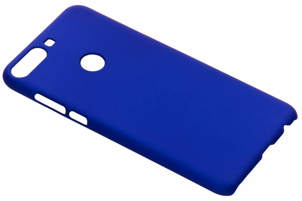 Effen Backcover voor HTC Desire 12 Plus - Blauw