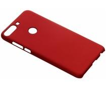 Rood Effen hardcase hoesje HTC Desire 12 Plus