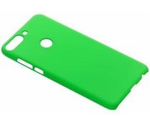 Groen Effen hardcase hoesje HTC Desire 12 Plus